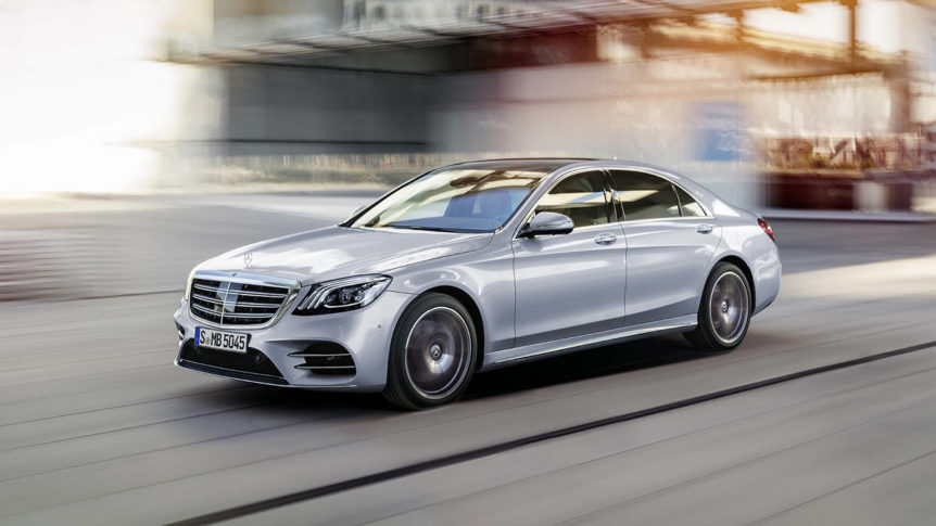 2018 Mercedes-Benz S-Class Sedan (European model shown)
