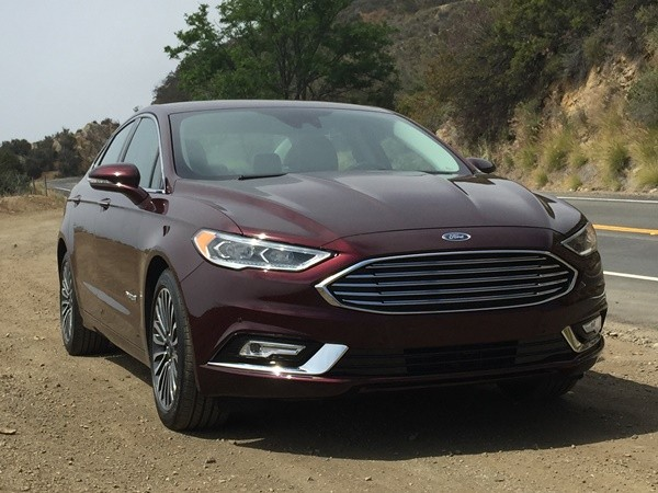 The 2018 Ford Fusion Se 58