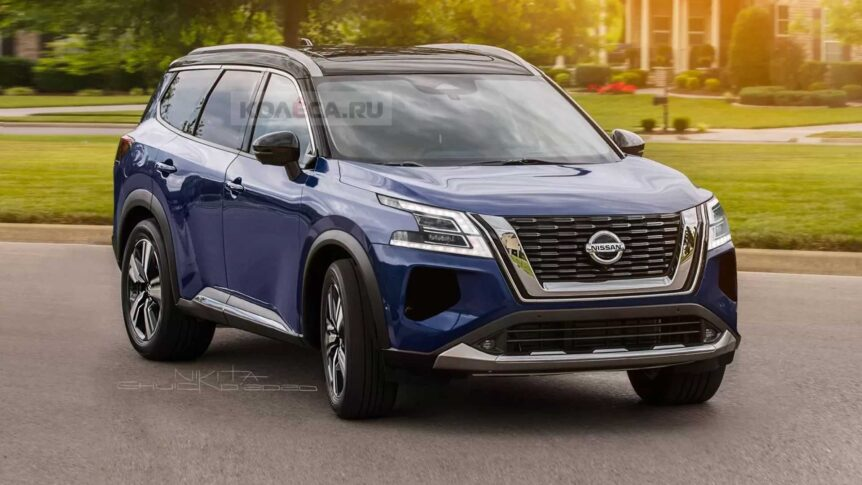 new-nissan-pathfinder-unofficial-rendering-front